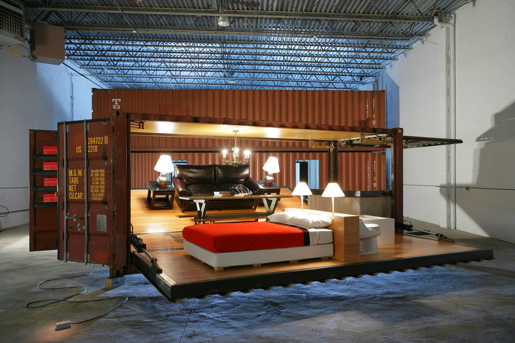 turning to smaller compact living quarters focus on shipping container houses - Shipping Container Homes Canada